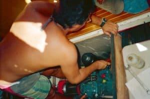 Stephen Engine repair