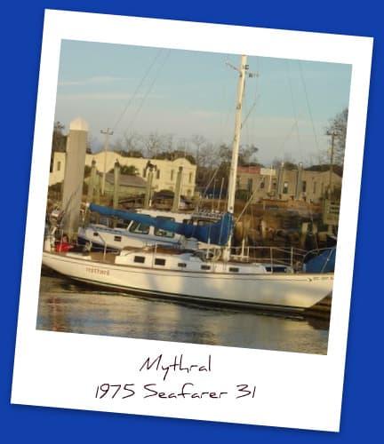 Mithril a seafarer 31 sail boat