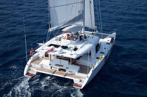 sunreef 58 catamaran exterior