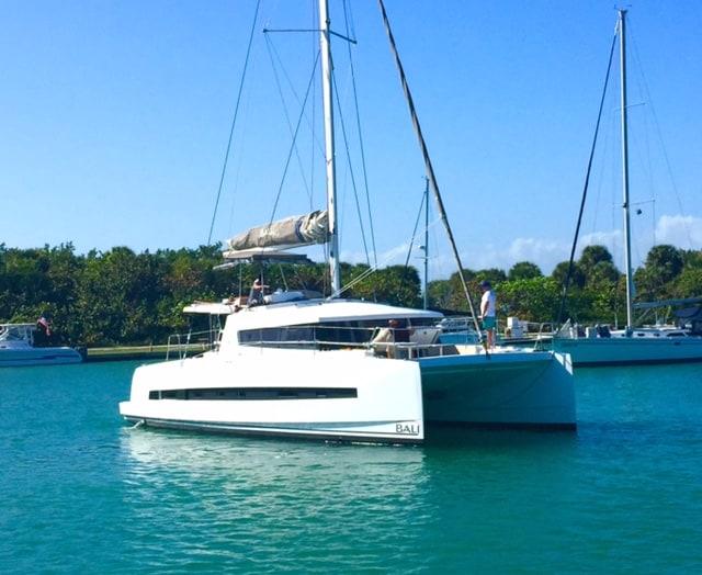 Bali 4 0 catamaran Miami