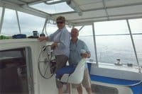 Dave & Peggy are owners of a fp 42 catamaran purchased with help of catamaran guru
