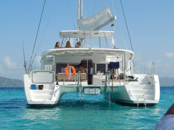 lagoon 450 bought with help of catamaran guru yacht brokers