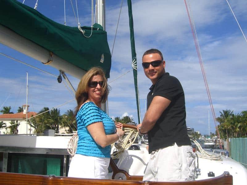 Marc & Brandi testimonial for sailing school