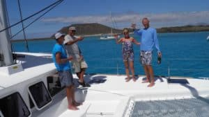 martin cooper boat christening fuertventura