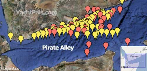 pirate alley map pirates in africa