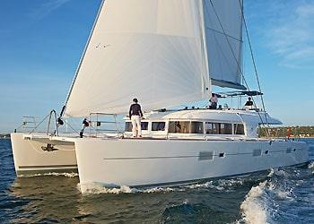 lagoon catamaran crewed yacht charter