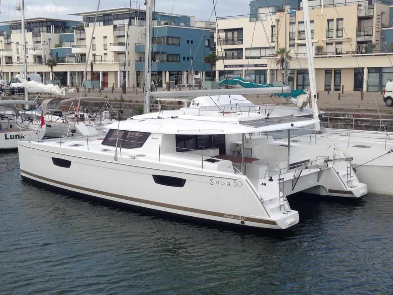 Saba 50 Catamaran by Fountaine Pajot