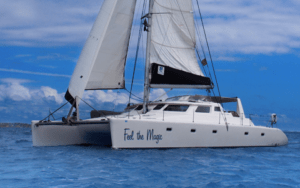 feel the magic sailing catamaran was purchased with help from catamaran guru and now is in charter in the bvi