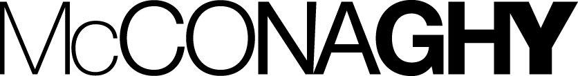 mcconaghy logo black