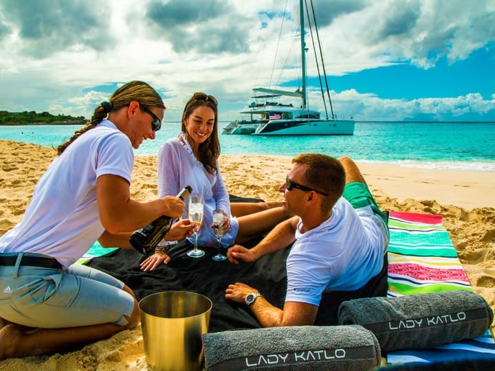 crewed yacht charter business