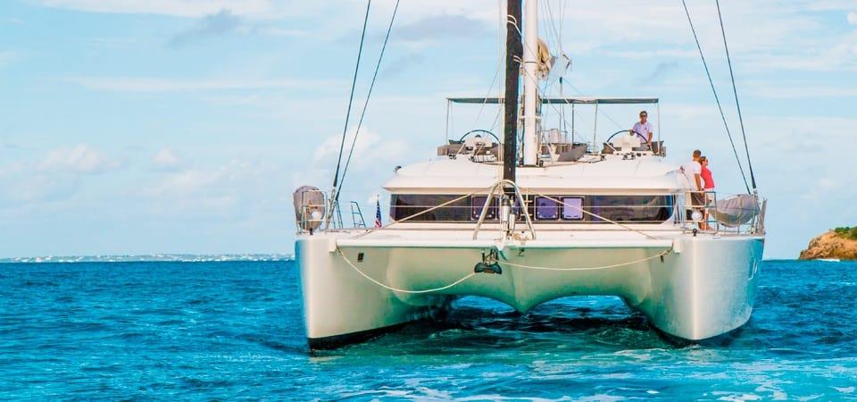 luxury catamaran charter