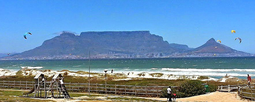 Table Mountain is the oldest mountain