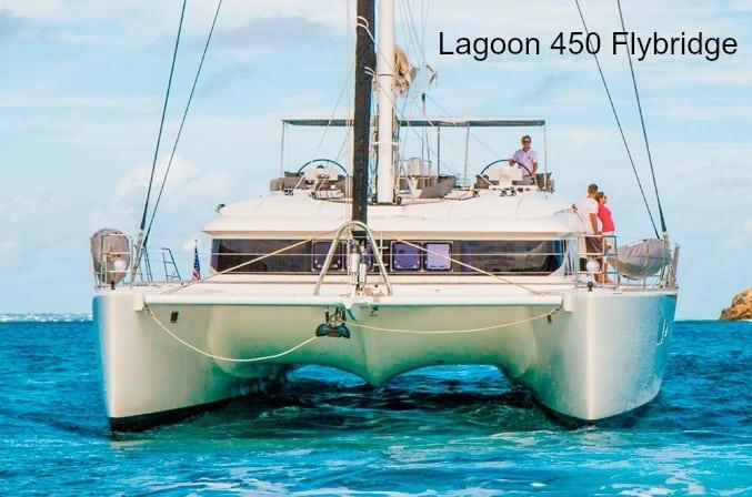 Lagoon 450 Catamaran Flybridge