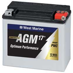 Catamaran battery maintenance