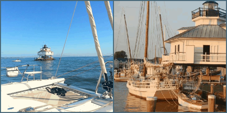 Chesapeake lighthouses