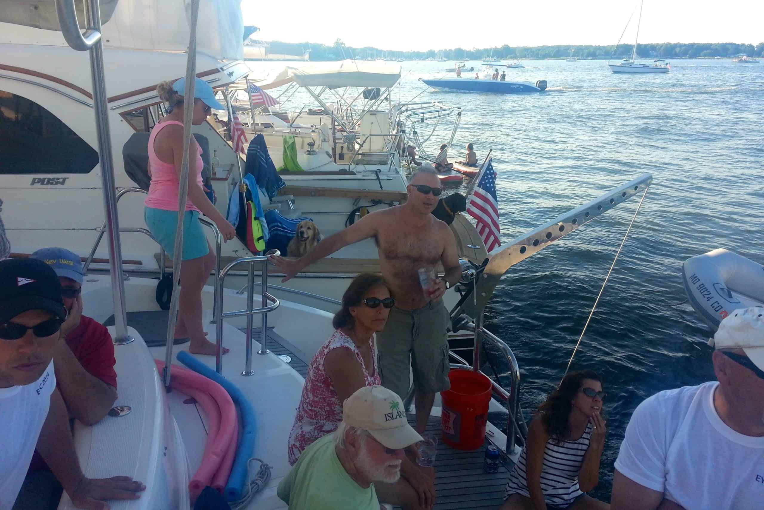 Sailing in the Chesapeake