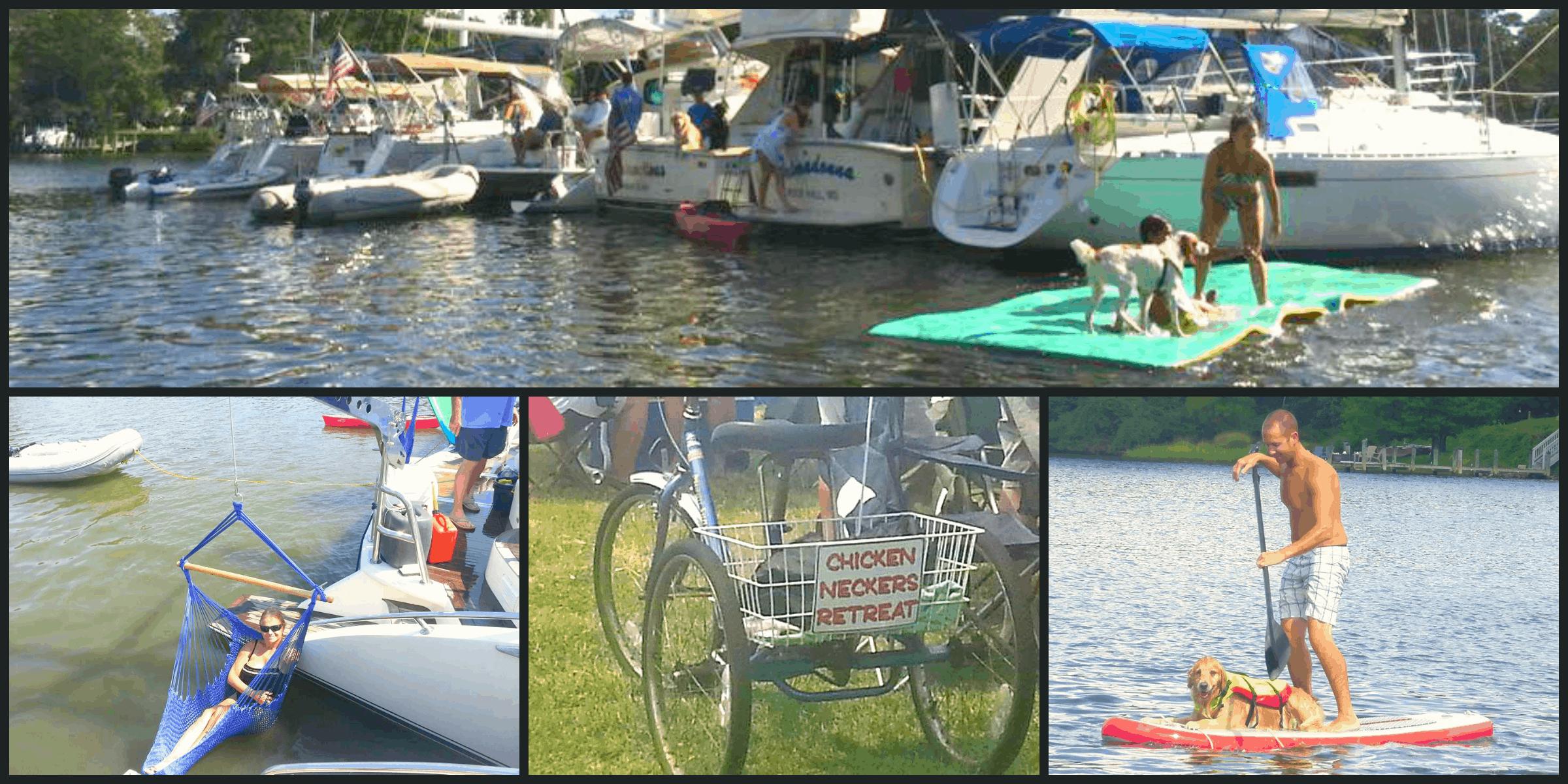 Chesapeake Raft up