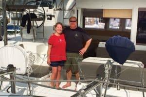 Catamaran Guru sailing catamaran buyers run a yacht charter in the bahamas