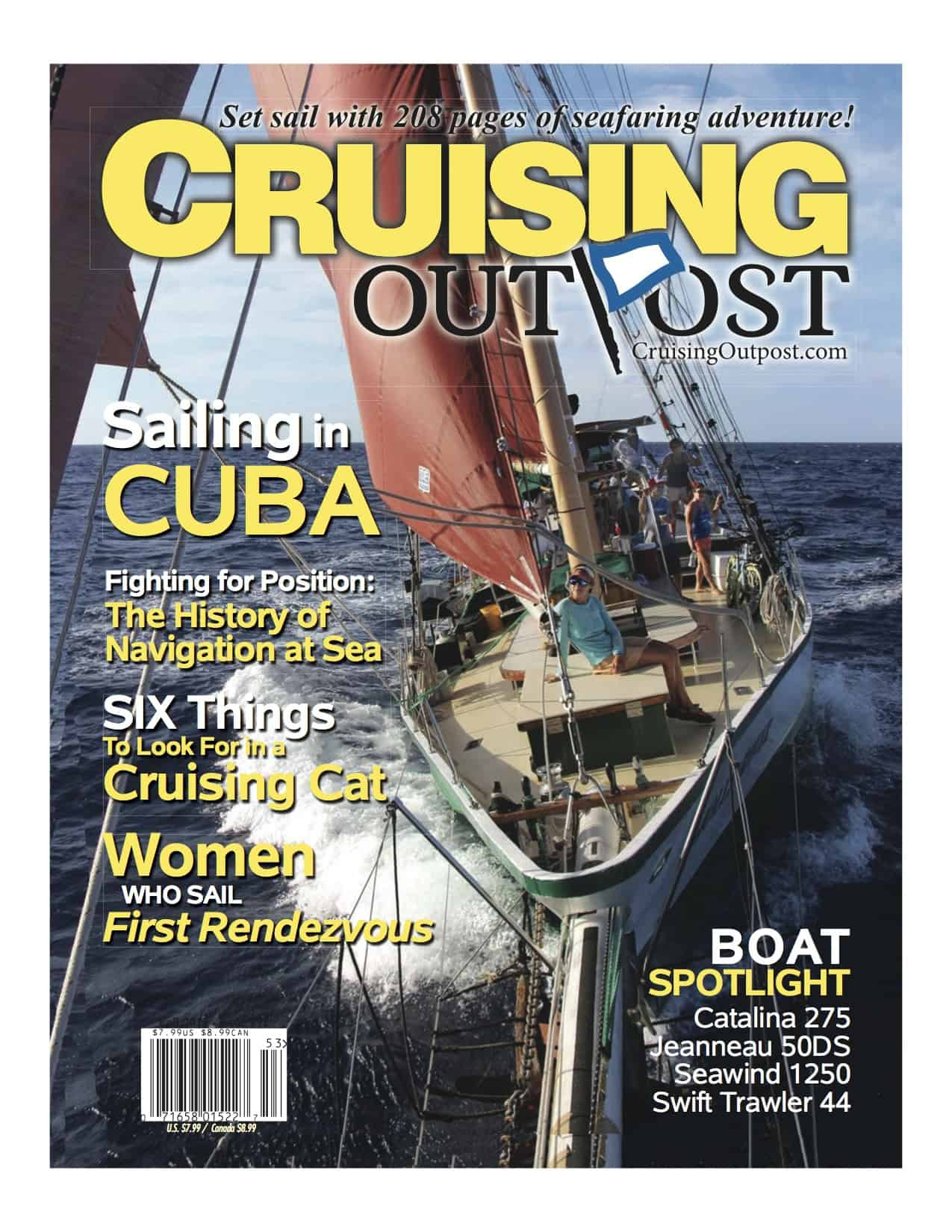 Cruising Outpost issue 12 includes article by catamaran guru about how to pick a cruising catamaran