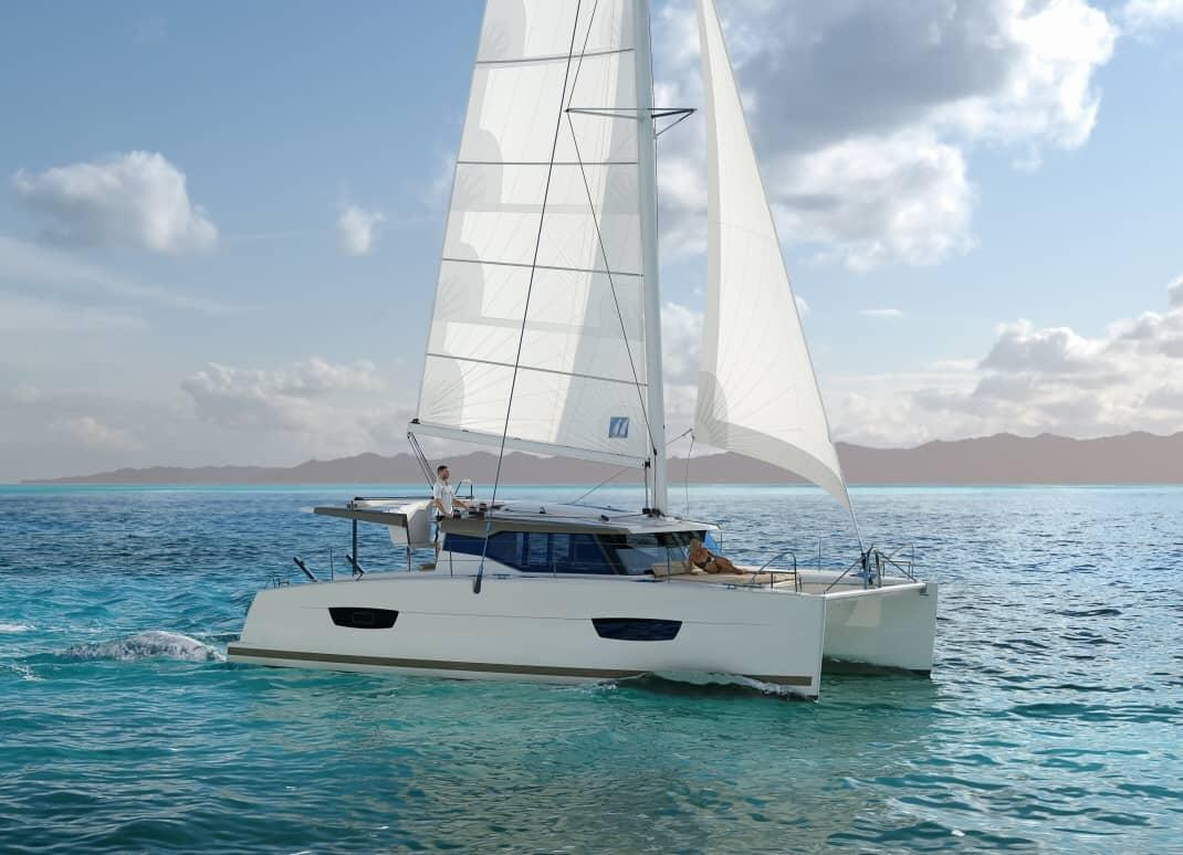 new Fountaine pajot 40 catamaran