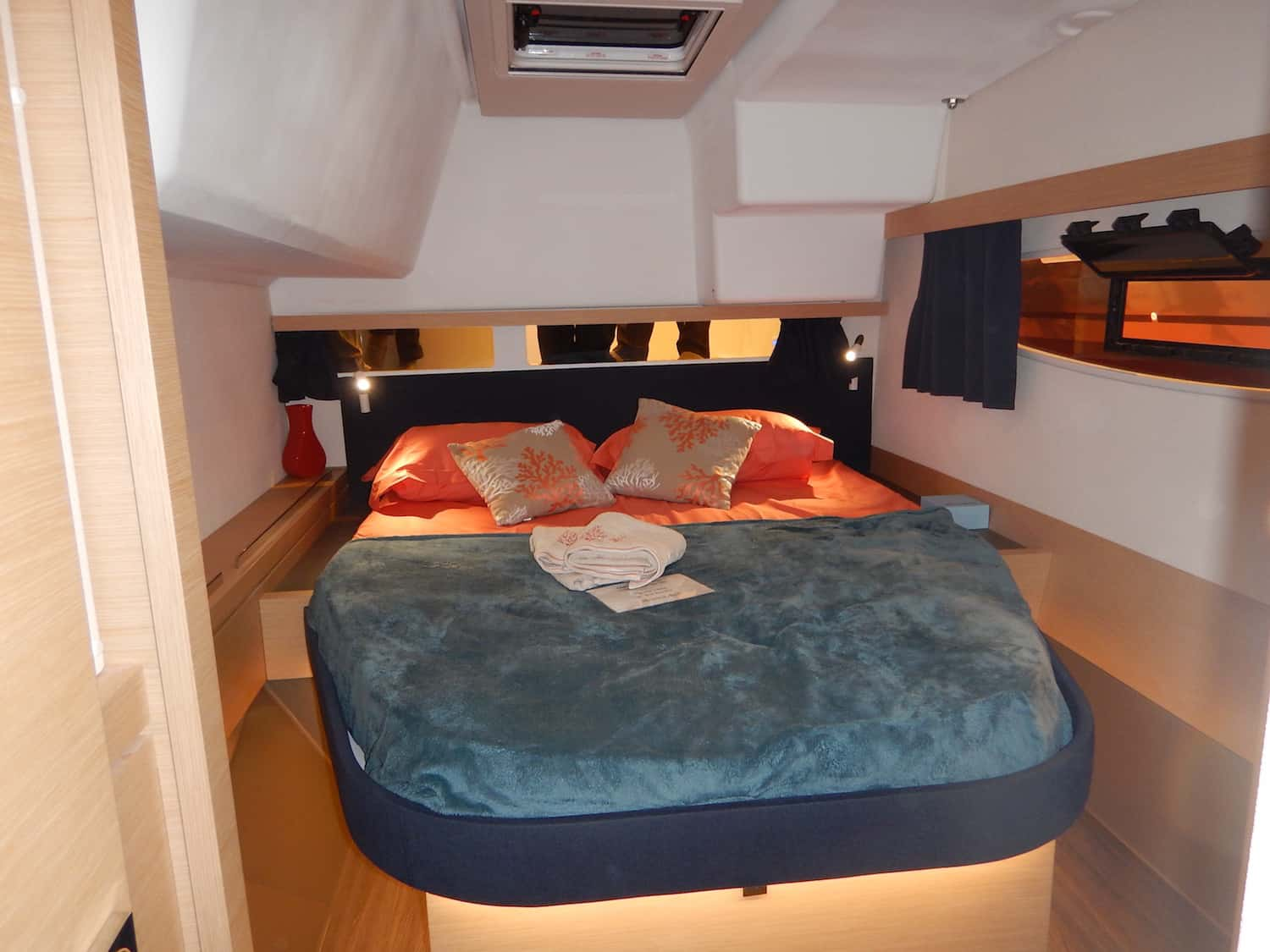 Lucia40 aft cabin