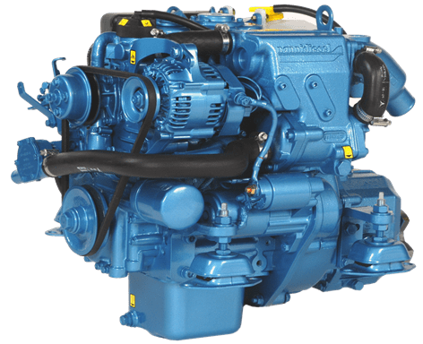 Diesel Engine of a Catamaran