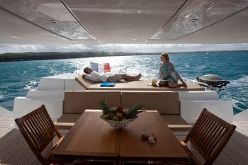 charter yacht ownership programs include guaranteed income, variable, & performance.