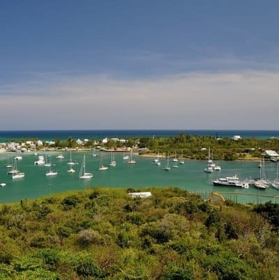 hope town in elbow cay of the bahamas is a superb sailing destination
