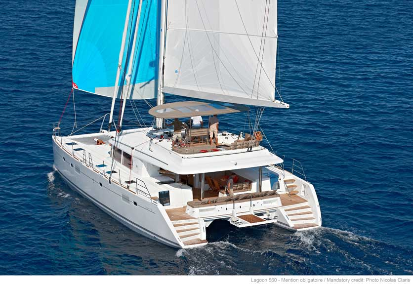 get off the grid and travel the world in your home on a catamaran