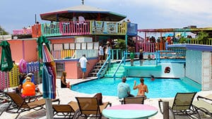 nippers bar in great guana cay in the bahamas is a great sailing destination