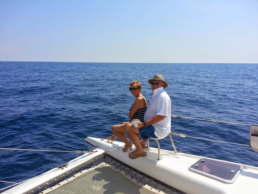 couples are living their sailing dreams