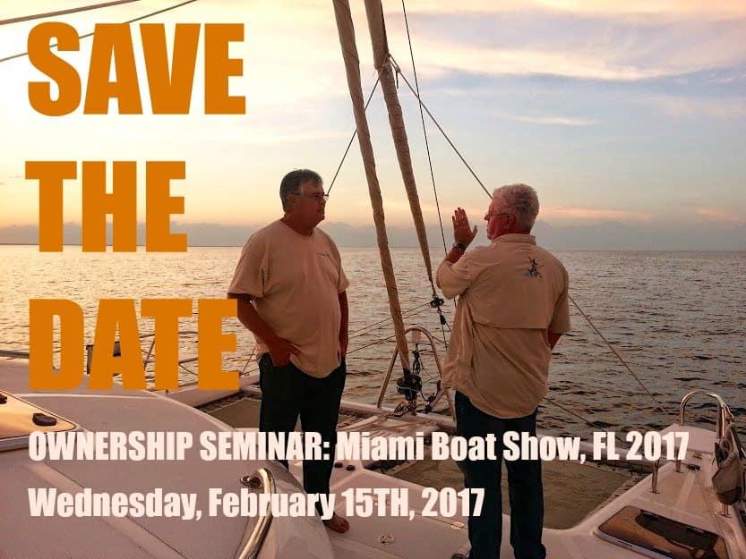 Miami boat show seminar