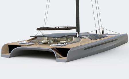 blackcat 50 metre concept catamaran