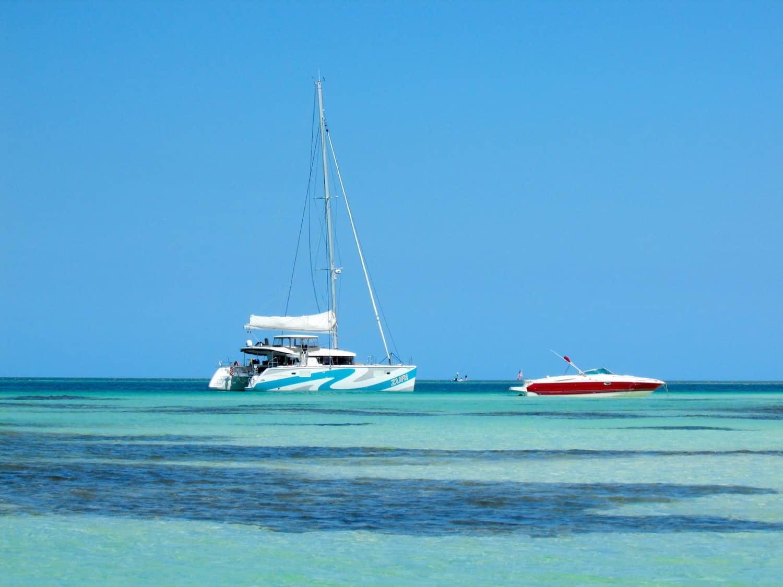 Zuri a catamaran sailing in the florida keys