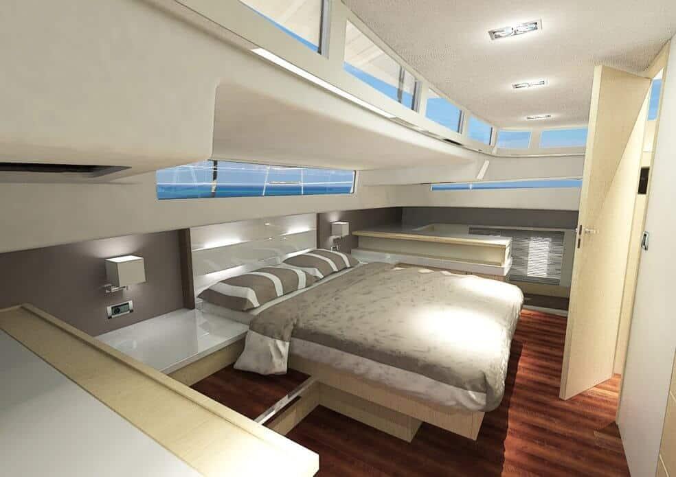 sunwave 54 cabin