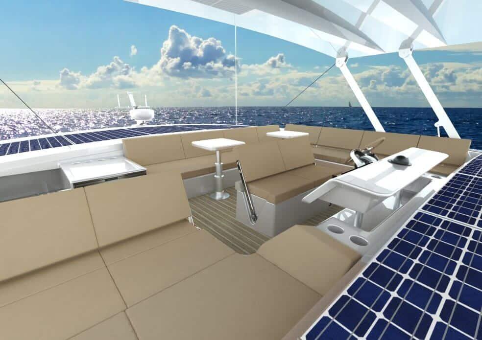 sunwave 54 concept catamaran cockpit