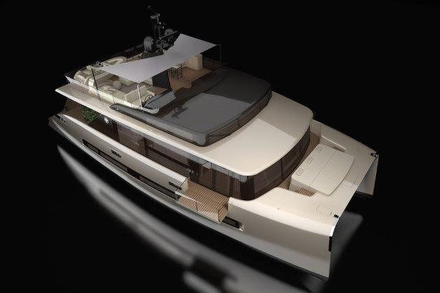 woodpecker boat concept catamaran picchio