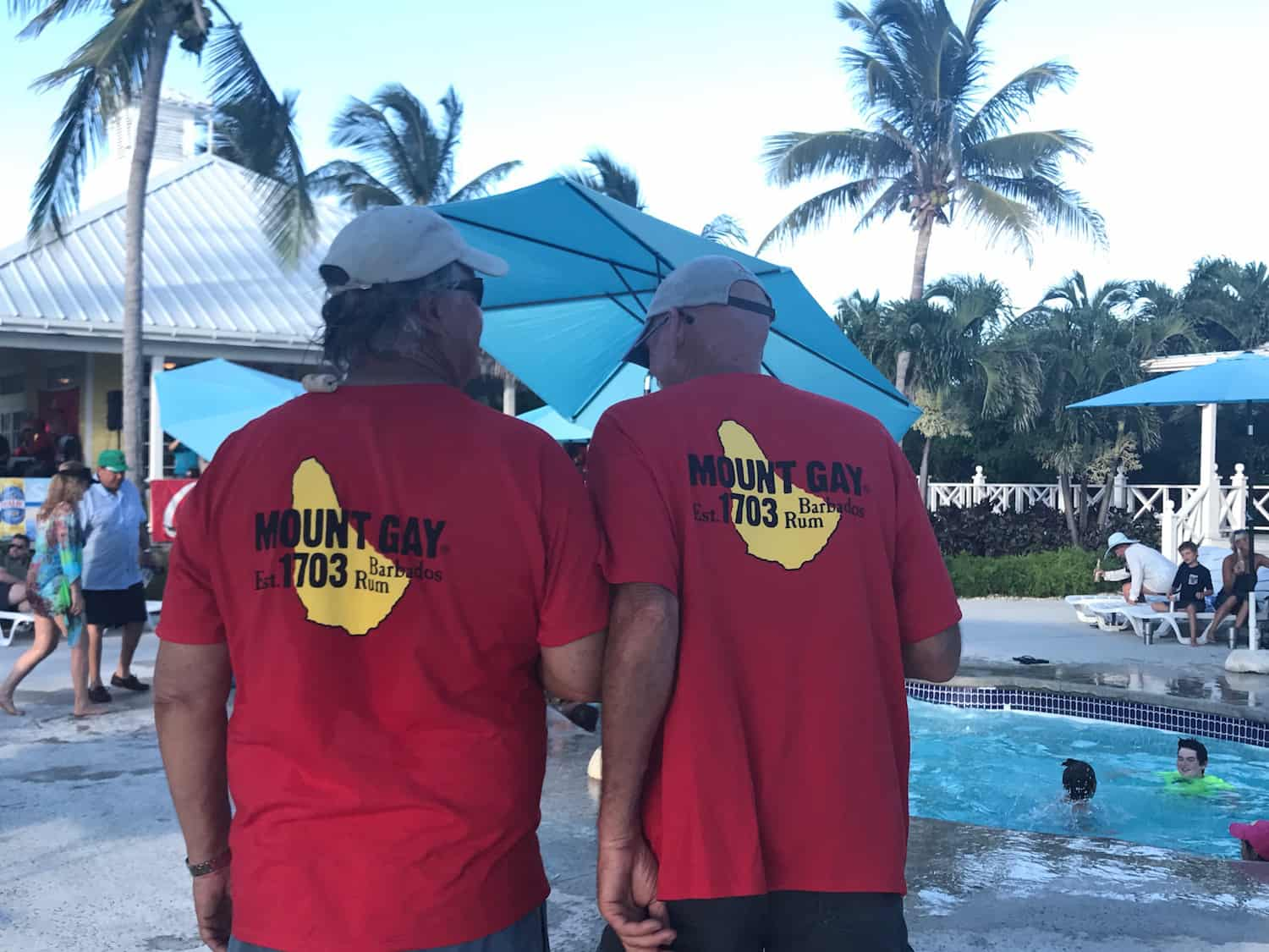 Abacos mountgay rum treated abaco sailing racers to free rum