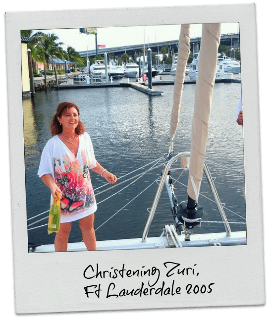 Boat christening and sailor superstitions