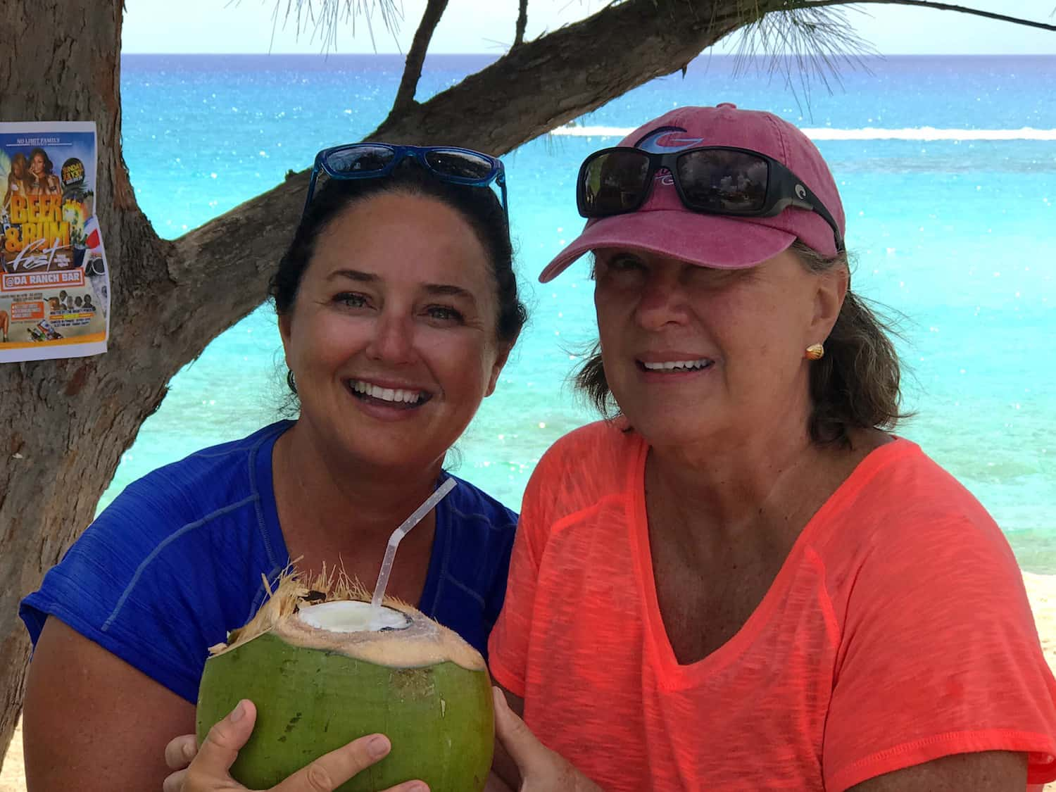 coconut rum party held during the abaco regatta days