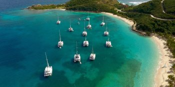 Large sailing catamarans offer excellent yacht ownership opportunities