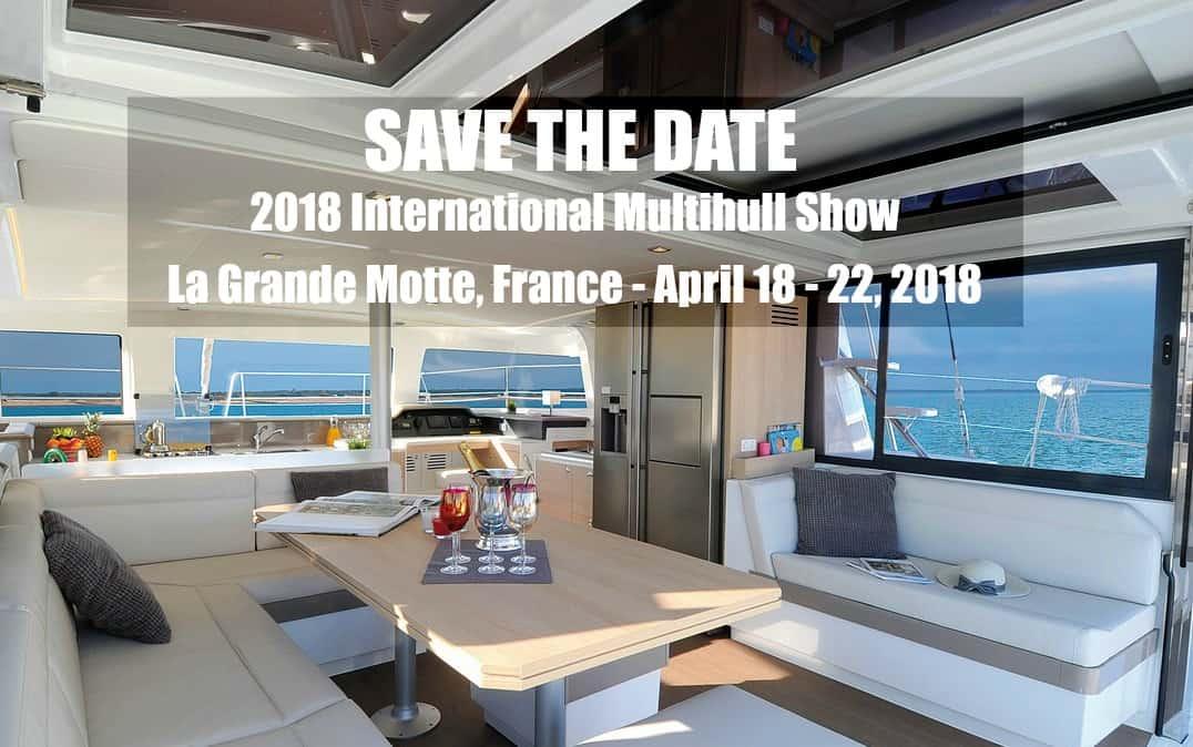 2018 internatinoal Multihull Boat Show La Grande Motte in france