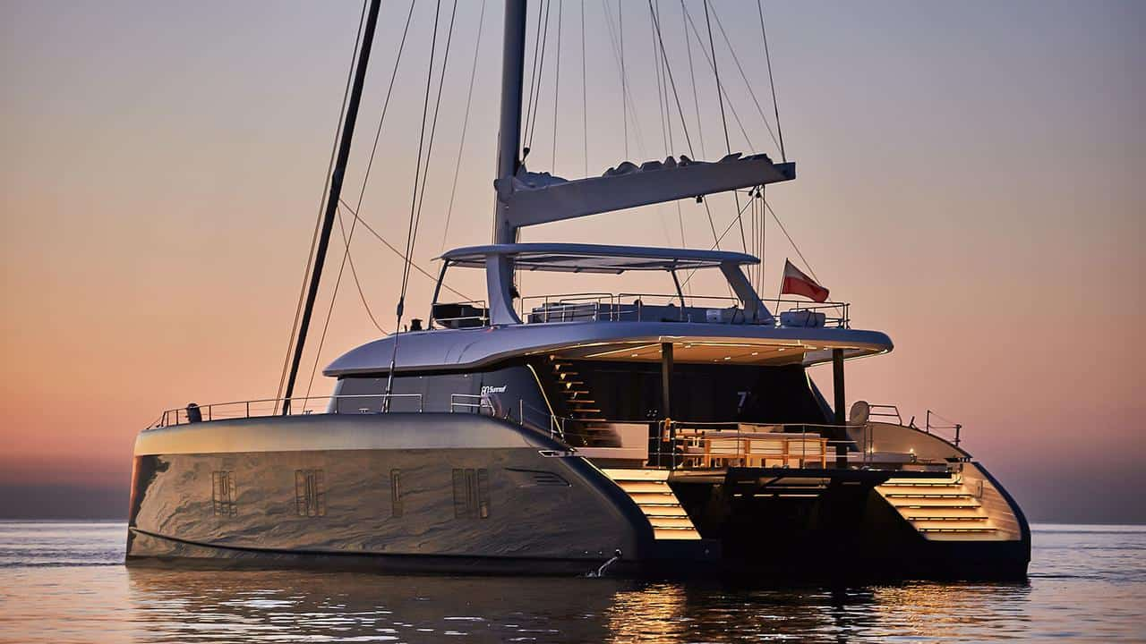 Sunreef 80 at the cannes yachting festival