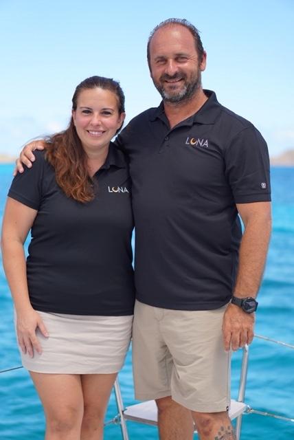 sail luna crew members