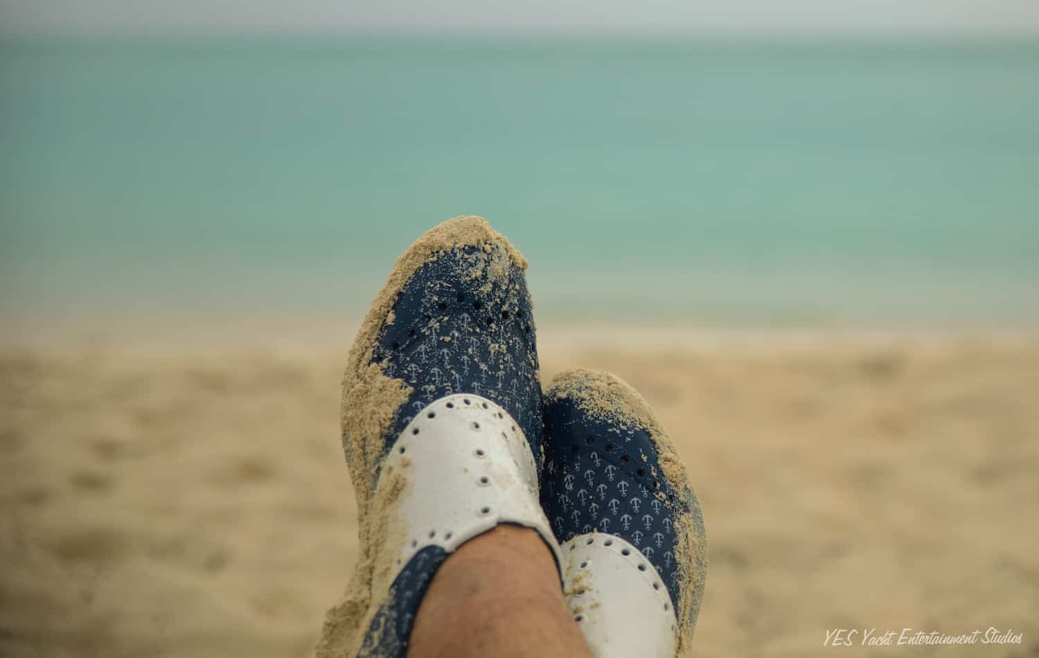 Biion boat shoes in sand