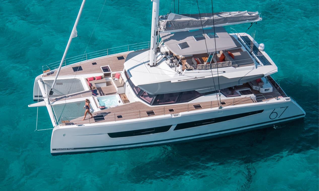 fountaine pajot alegria 67 catamaran