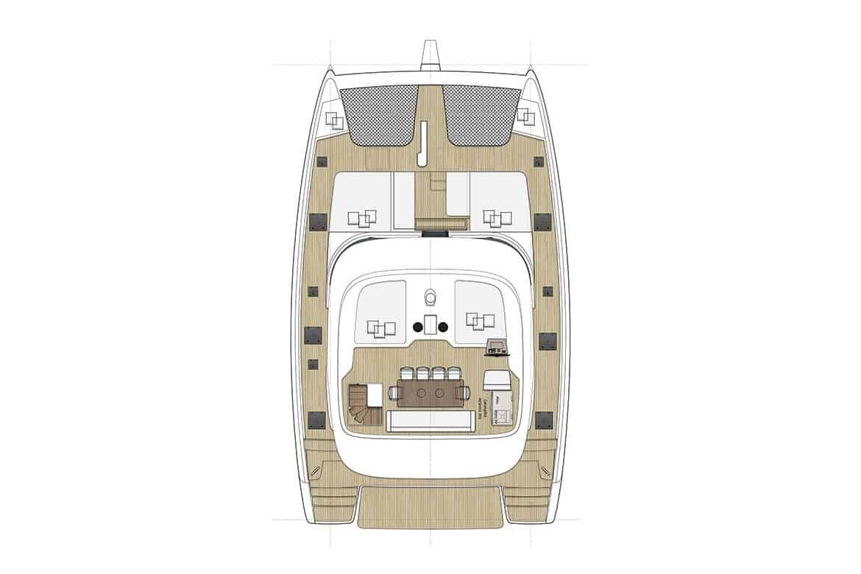 sunreef 50 cockpit layout