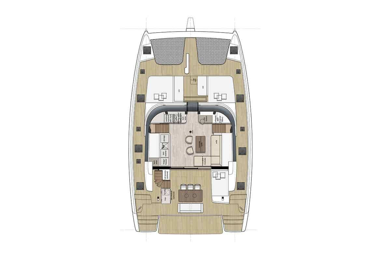 sunreef 50 deckhouse layout