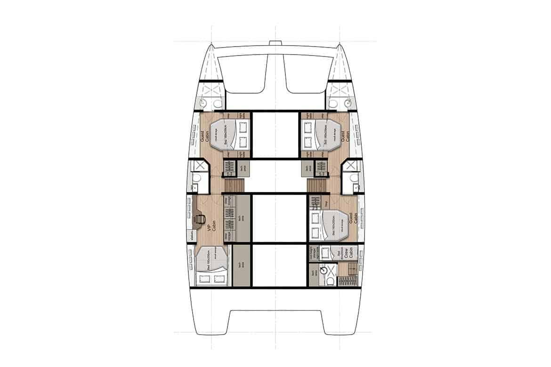 sunreef 50 hull cabin layout