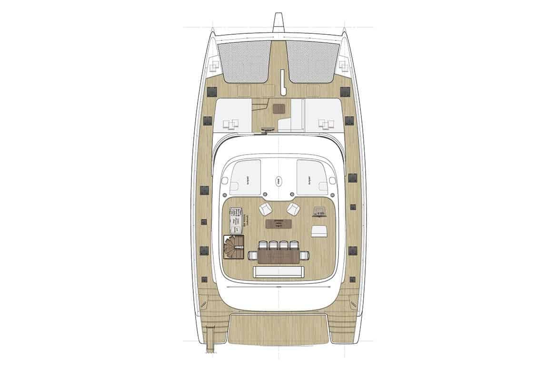 sunreef 60 cockpit layout
